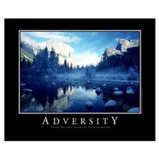 Adversity Canvas Art