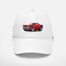 1968 Roadrunner Red Car Baseball Baseball Cap