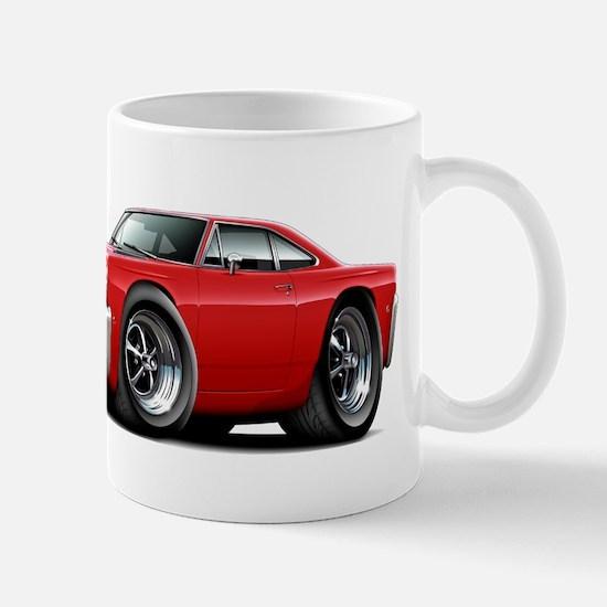 1968 Roadrunner Red Car Mug