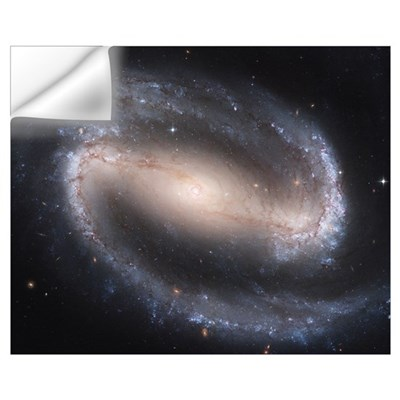 Barred Spiral Galaxy Wall Decal