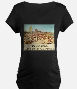 On The Beach Long Beach T-Shirt