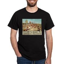 On The Beach Long Beach T-Shirt