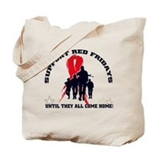 Red Fridays - Until they all Tote Bag