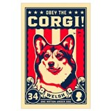 Welsh corgi Wrapped Canvas Art