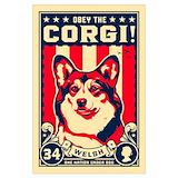 Welsh corgi Posters