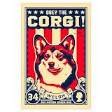 Corgi Posters
