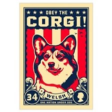 Obey the Corgi! Large Propaganda