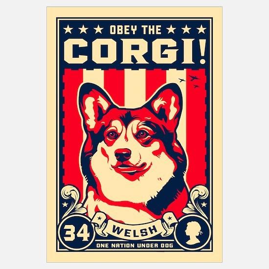 Obey the Corgi! Large Propaganda