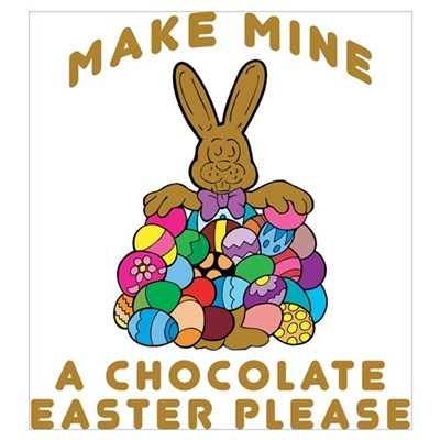 Chocolate Easter Poster