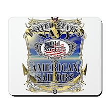 USN Navy All American Sailors Mousepad