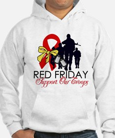 Red Fridays - Support Our Tro Jumper Hoody