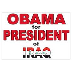 Anti Obama Barac Poster