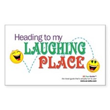 """Laughing Place"" Decal"