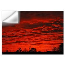 Delta Fiery Sunrise Wall Decal