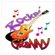 ROCKIN GRANNY Poster