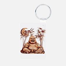 Riyah-Li Designs Happy Buddha Keychains