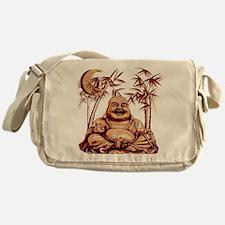 Riyah-Li Designs Happy Buddha Messenger Bag