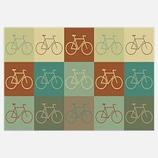 Bicycling Pop Art