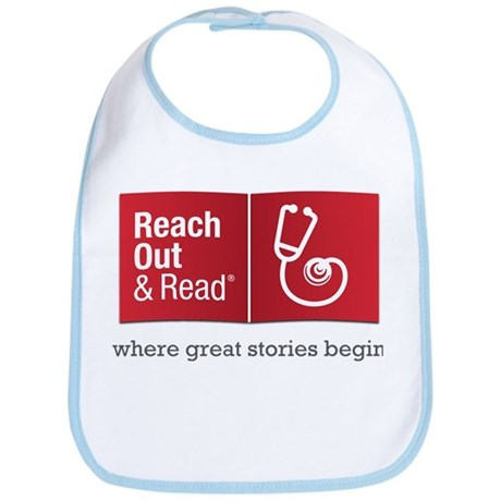 Reach Out And Read Bib W/ Piping