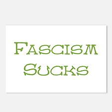 Fascism Sucks Postcards (Package of 8)