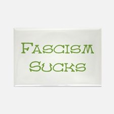 Fascism Sucks Rectangle Magnet (100 pack)