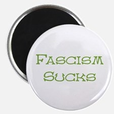 """Fascism Sucks 2.25"""" Magnet (10 pack)"""