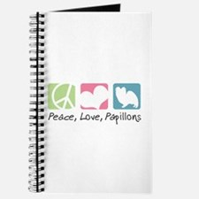 Peace, Love, Papillons Journal