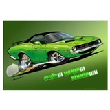 Plymouth barracuda Posters