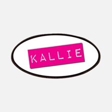 Kallie Punchtape Patches