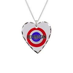 Patriotic Republican Necklace