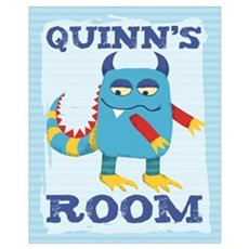 Quinn's ROOM Mallow Monster Poster