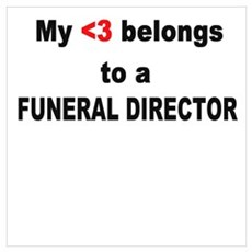 Funeral Director Poster