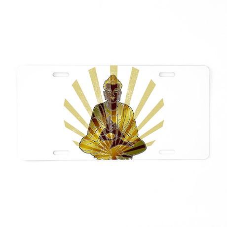 Riyah-Li Designs Vintage Buddha Aluminum License P