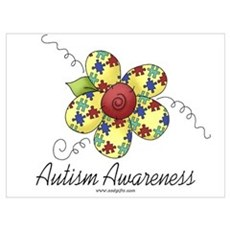 Autism Awareness Canvas Art
