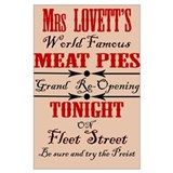 Sweeney todd Posters