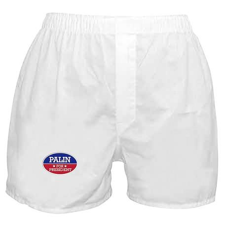Palin for President Boxer Shorts