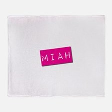 Miah Punchtape Throw Blanket