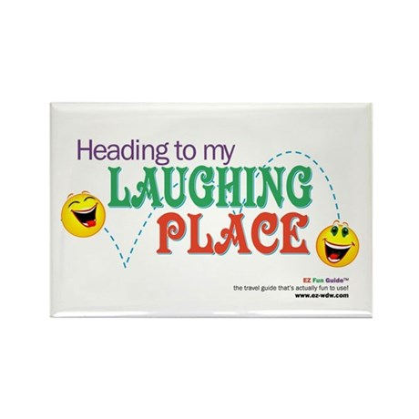 """Laughing Place"" Magnet"