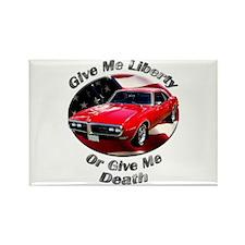 Classic Pontiac Firebird Rectangle Magnet (10 pack