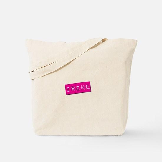 Irene Punchtape Tote Bag