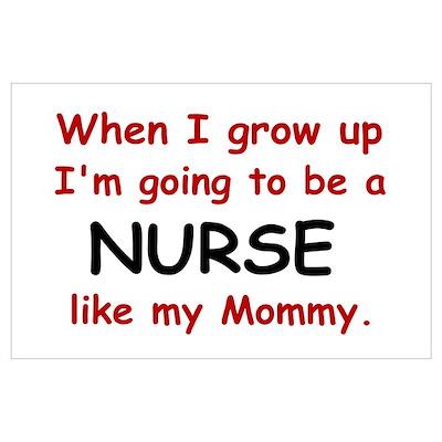 Nurse (Like My Mommy) Poster