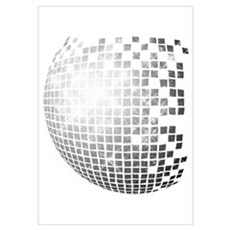 """""""Disco Ball"""" Poster"""