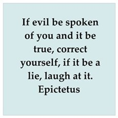 Wisdon of Epictetus Poster
