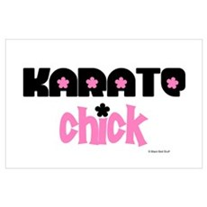 Karate Chick (Cotton Candy) Poster