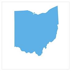 Baby Blue Ohio Poster