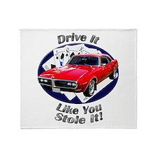 Classic Pontiac Firebird Throw Blanket