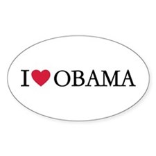 I love Obama Decal