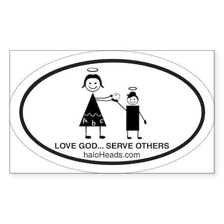 Teacher Sticker (Rectangle)