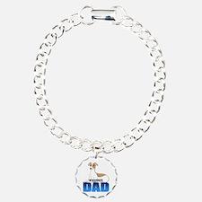 Whippet Dad Bracelet