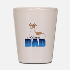 Whippet Dad Shot Glass